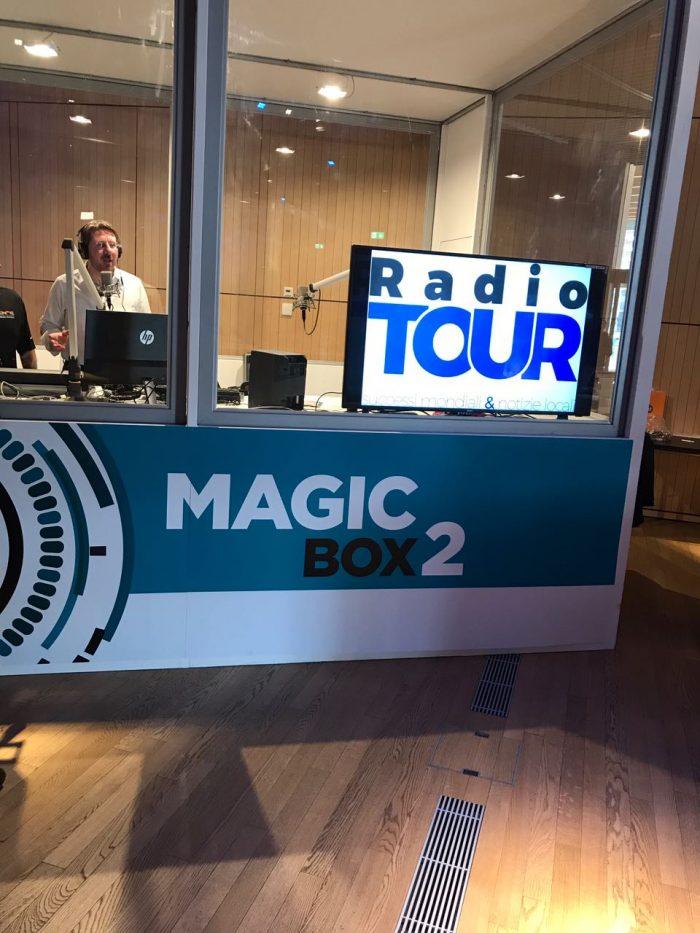 il nostro studio al Radio City Milano 2017